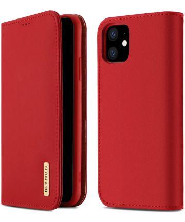 Dux Ducis Wish Series Apple iPhone 11 Hoesje Rood Hoesjes