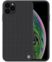Nillkin Textured Hybride Apple iPhone 11 Pro Max Hoesje Zwart
