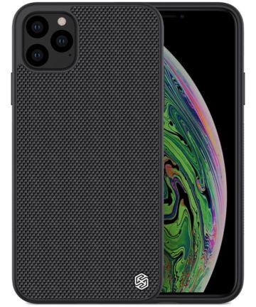 Nillkin Textured Hybride Apple iPhone 11 Pro Max Hoesje Zwart Hoesjes