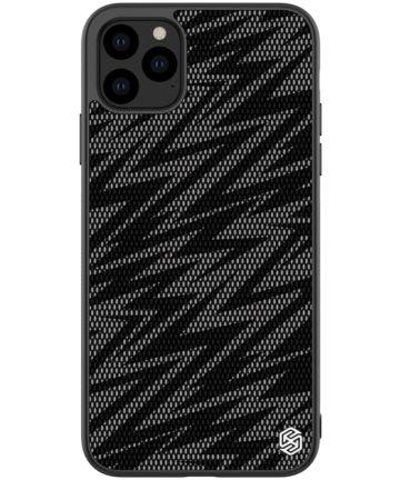 Nillkin Dazzling Hybride Apple iPhone 11 Pro Max Hoesje Zwart/Grijs Hoesjes