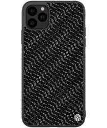 Nillkin Dazzling Hybride Apple iPhone 11 Pro Max Hoesje Zilver/Zwart