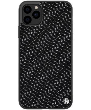 Nillkin Dazzling Hybride Apple iPhone 11 Pro Max Hoesje Zilver/Zwart Hoesjes