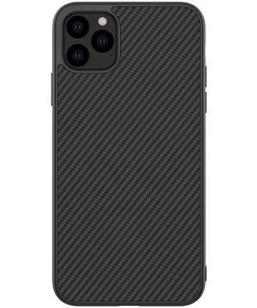 Nillkin Synthetic Fiber Hybride Apple iPhone 11 Pro Hoesje Zwart Hoesjes
