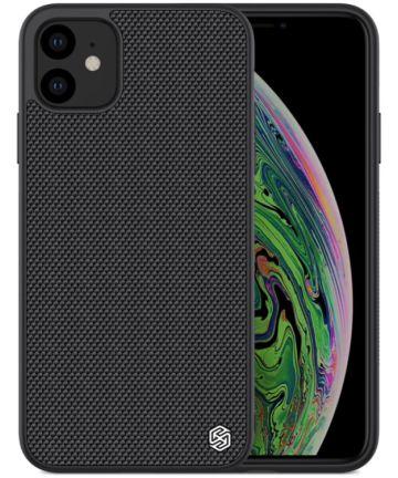 Nillkin Textured Hybride Apple iPhone 11 Hoesje Zwart Hoesjes