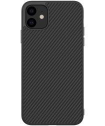 Nillkin Synthetic Fiber Hybride Apple iPhone 11 Hoesje Zwart