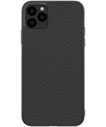 Nillkin Synthetic Fiber Hybride Apple iPhone 11 Pro Max Hoesje Zwart