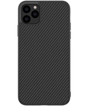 Nillkin Synthetic Fiber Hybride Apple iPhone 11 Pro Max Hoesje Zwart Hoesjes