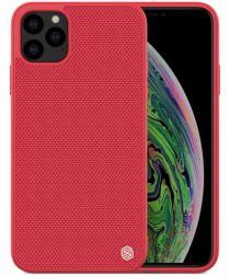 Nillkin Textured Hybride Apple iPhone 11 Pro Hoesje Rood