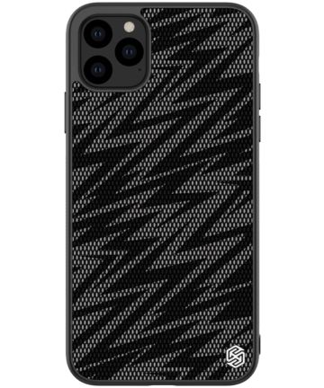Nillkin Dazzling Hybride Apple iPhone 11 Pro Hoesje Zwart/Grijs Hoesjes