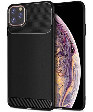 Apple iPhone 11 Pro Hoesje Armor TPU Zwart Hoesjes