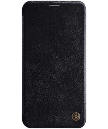 Nillkin Qin Series Apple iPhone 11 Pro Hoesje Zwart Hoesjes
