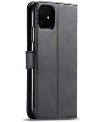 Apple iPhone 11 Portemonnee Bookcase Hoesje Met Stand Zwart