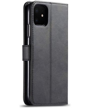 Apple iPhone 11 Portemonnee Bookcase Hoesje Met Stand Zwart Hoesjes