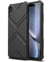 Apple iPhone XR TPU Shield Hoesje Zwart