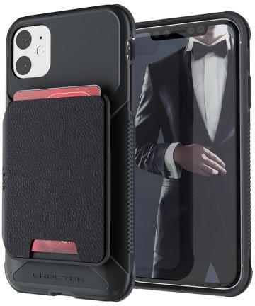 Ghostek Exec 4 Portemonnee Apple iPhone 11 Hoesje Zwart Hoesjes