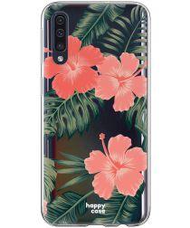 HappyCase Samsung Galaxy A70 Flexibel TPU Hoesje Tropic Vibe Print