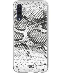 HappyCase Samsung Galaxy A70 Flexibel TPU Hoesje Slangen Print