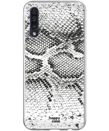 HappyCase Samsung Galaxy A70 Flexibel TPU Hoesje Slangen Print Hoesjes
