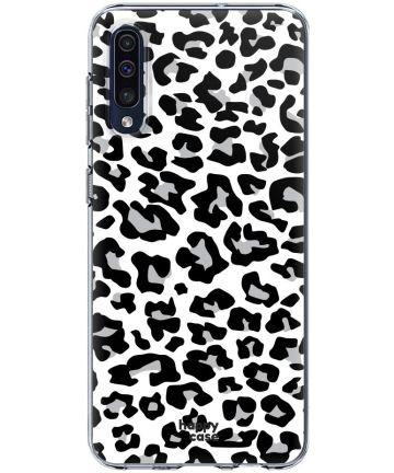 HappyCase Samsung Galaxy A50 Hoesje Flexibel TPU Panter Print Hoesjes