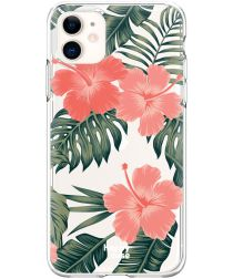 HappyCase Apple iPhone 11 Hoesje Flexibel TPU Tropic Vibe Print