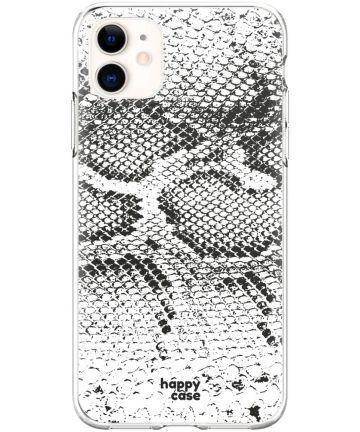 HappyCase Apple iPhone 11 Hoesje Flexibel TPU Slangen Print Hoesjes