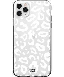 HappyCase iPhone 11 Pro Max Hoesje Flexibel TPU Luipaard Print