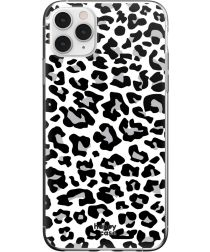 HappyCase iPhone 11 Pro Max Hoesje Flexibel TPU Panter Print