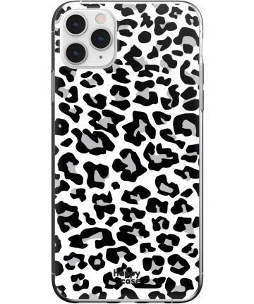 HappyCase iPhone 11 Pro Max Hoesje Flexibel TPU Panter Print Hoesjes