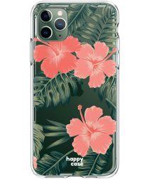 HappyCase iPhone 11 Pro Hoesje Flexibel TPU Tropic Vibe Print