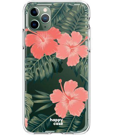 HappyCase iPhone 11 Pro Hoesje Flexibel TPU Tropic Vibe Print Hoesjes