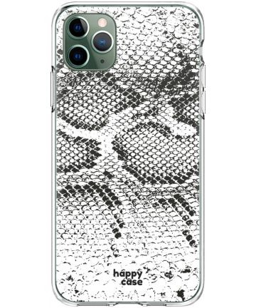 HappyCase iPhone 11 Pro Hoesje Flexibel TPU Slangen Print Hoesjes