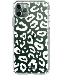 HappyCase iPhone 11 Pro Hoesje Flexibel TPU Luipaard Print