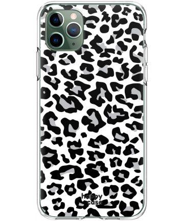 HappyCase iPhone 11 Pro Hoesje Flexibel TPU Panter Print Hoesjes