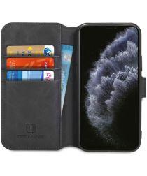 DG Ming Retro Portemonnee Apple iPhone 11 Pro Max Hoesje Zwart