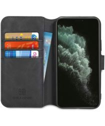 DG Ming Retro Portemonnee Apple iPhone 11 Pro Hoesje Zwart
