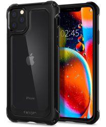 Spigen Gauntlet Apple iPhone 11 Pro Max Hoesje Carbon Zwart