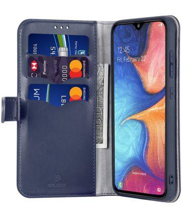 Dux Ducis Kado Series Samsung Galaxy A40 Portemonnee Hoesje Blauw Hoesjes