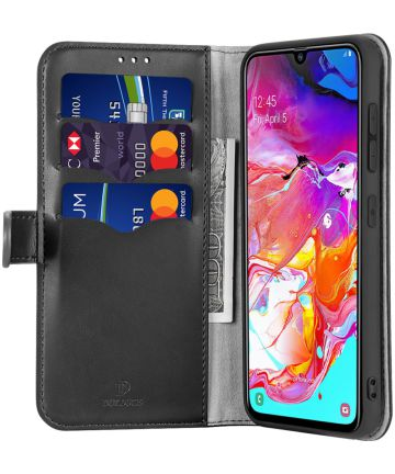 Dux Ducis Kado Series Samsung Galaxy A50 Hoesje Portemonnee Zwart