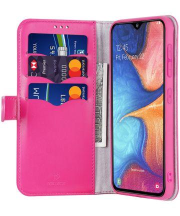 Dux Ducis Kado Series Samsung Galaxy A20E Portemonnee Hoesje Roze Hoesjes