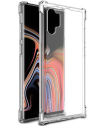 IMAK Samsung Galaxy Note 10 Plus Hoesje Schokbestendig TPU Transparant