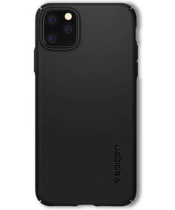 Spigen Thin Fit Air Apple iPhone 11 Pro Max Hoesje Zwart Hoesjes