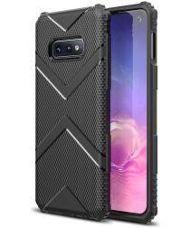 Samsung Galaxy S10E TPU Shield Hoesje Zwart