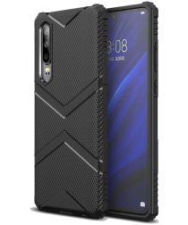 Huawei P30 TPU Shield Hoesje Zwart