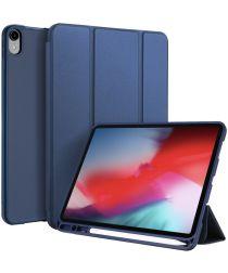 Dux Ducis Apple iPad Pro 11 (2018) Tri-fold Hoes Blauw