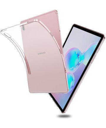Samsung Galaxy Tab S6 Transparant Hoesje Hoesjes