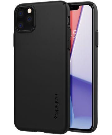 Spigen Thin Fit Air Apple iPhone 11 Pro Hoesje Zwart Hoesjes