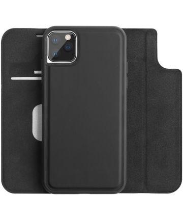 Apple iPhone 11 Pro Hoesje 2-in-1 Book Case en Back Cover Zwart Hoesjes