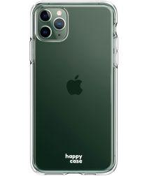 HappyCase iPhone 11 Pro Hoesje Flexibel TPU Clear Print