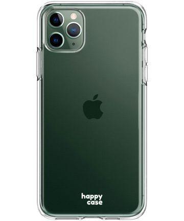 HappyCase iPhone 11 Pro Hoesje Flexibel TPU Clear Print Hoesjes