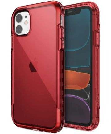 Raptic Air Apple iPhone 11 Hoesje Back Cover Rood Hoesjes